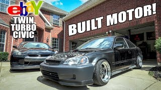twin-turbo-civic-is-back-built-motor-install