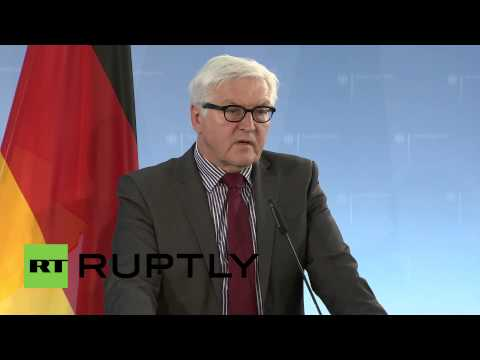 Germany: Steinmeier on Macedonia - unrest may disrupt the Balkans