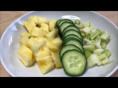 frullato-alle-verdure-disintossicante---ananas,-sedano,-cetriolo