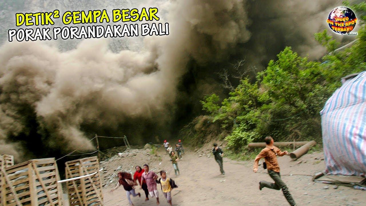 INDONESIA Berduka! GEMPA Besar Guncang BALI Hingga Bengkulu, Puluhan Bangunan dan Rumah Ibadah RUSAK