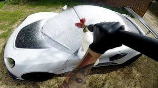 POV Car Cleaning (unseen footage)