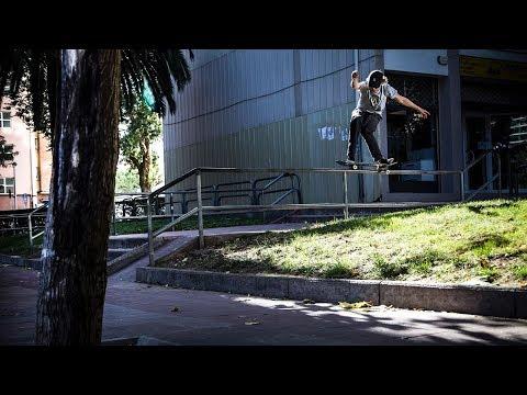 Bart Buikman Barcelona Skateboarding Part (2018)