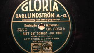 Lew Stone & his band - I ain