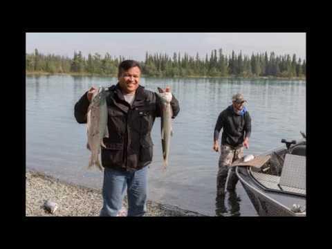 Salmon Fishing Skilak Lake Alaska on 18 July 2016