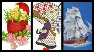 The Most Beautiful Embroidery pattern Design And laces ideas part two