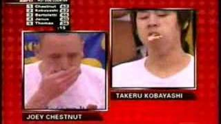 joey chestnut world record