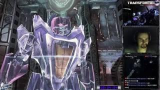 Transformers: War for Cybertron прохождение 100% | Игра на (PC). Глава 1 и 2 [RUS] HD стрим #1