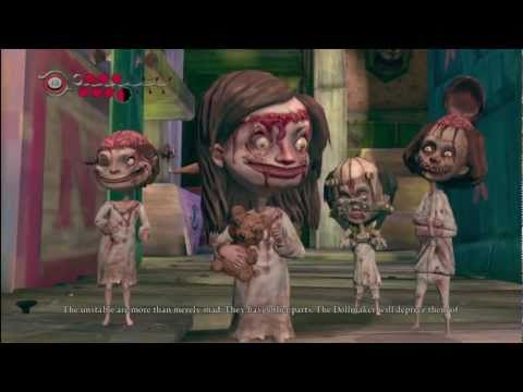Alice Madness Returns - Creepy Cutscene w/ Combat Gameplay *description*