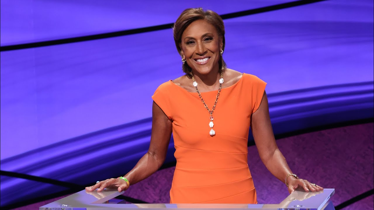 Robin Roberts on why her 'Jeopardy!' hosting nerves 'felt good ...