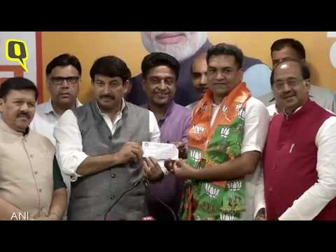 Former AAP Leader, Kapil Mishra Joins Bharatiya Janata Party (BJP)