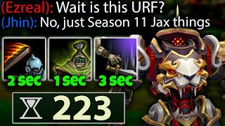 Why 223 Ability Haste Jax is more OP than peak Shojin Jax