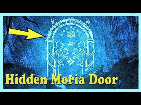 This Guy Built A Hidden Mines Of Moria Door Into His Basement, And It's Awesome