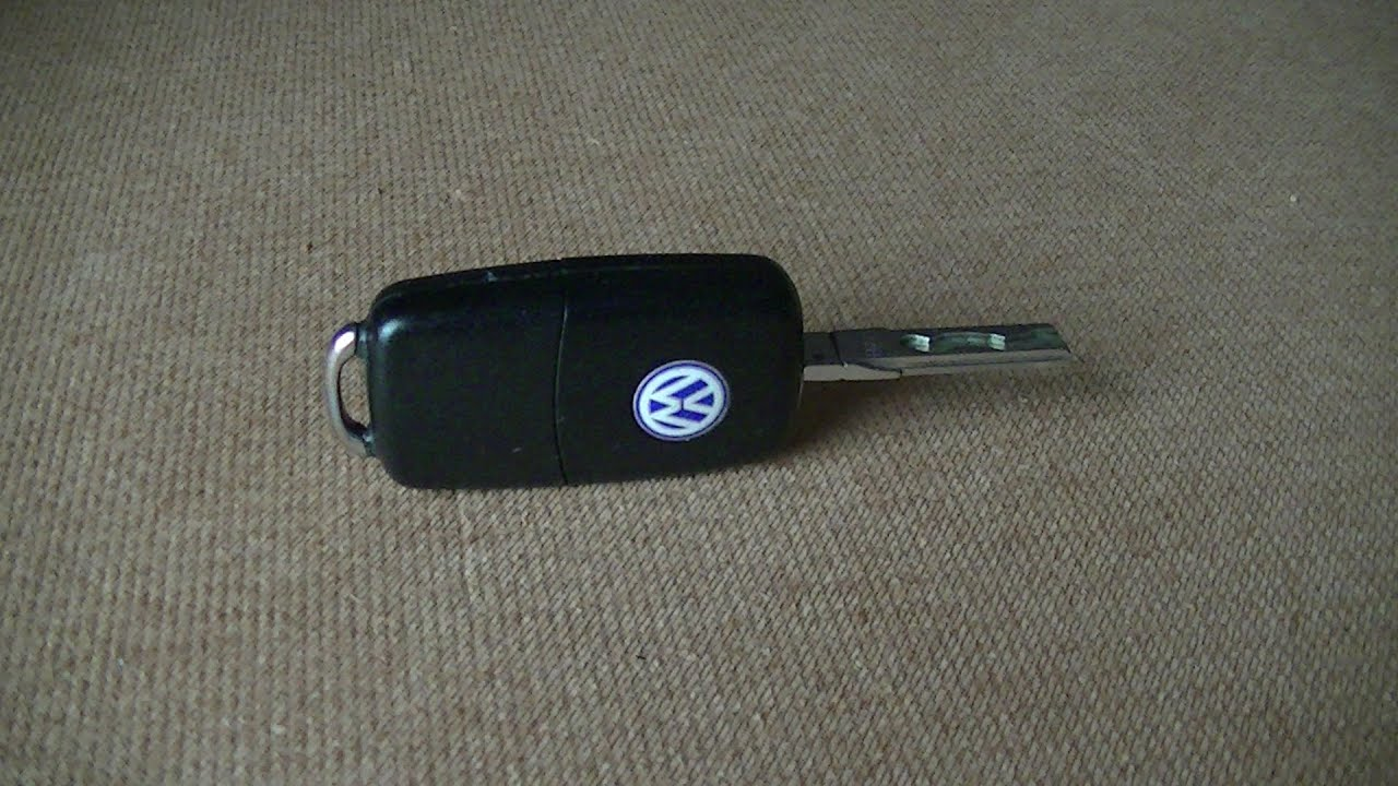 vw remote key battery replacement quick easy youtube