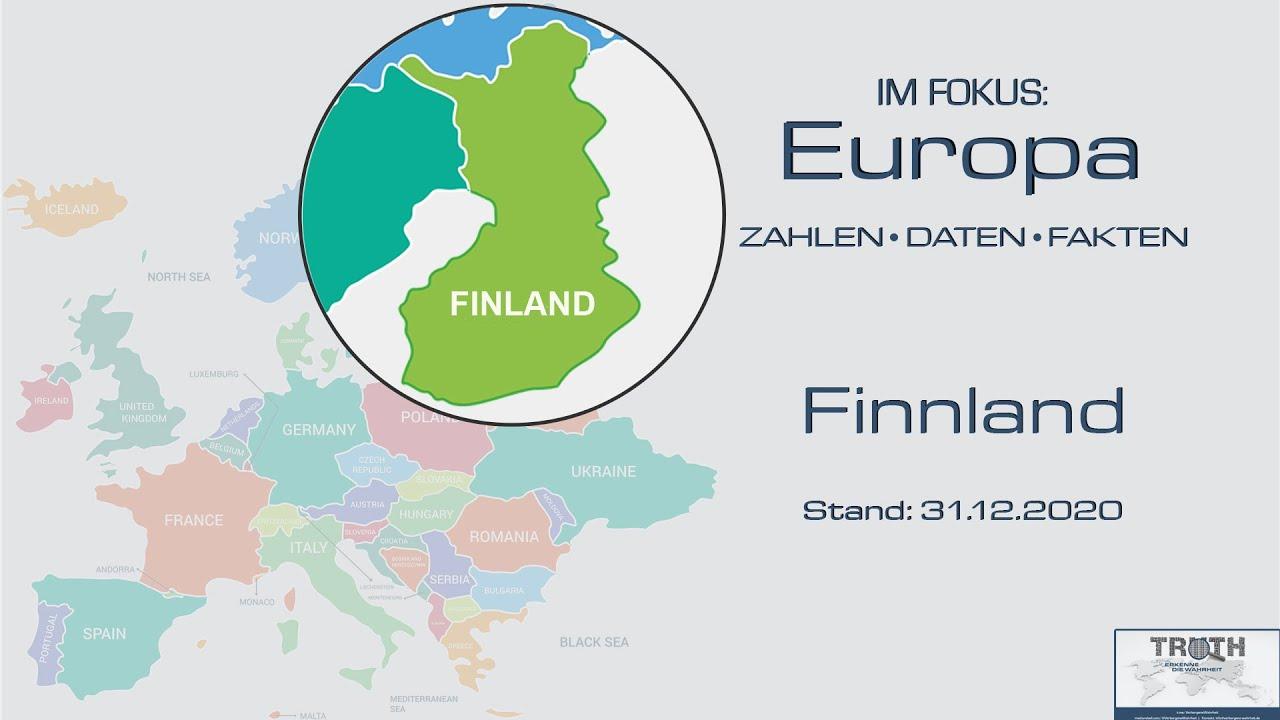 Finnland: Zahlen - Daten - Fakten (Stand: 31.12.2020)