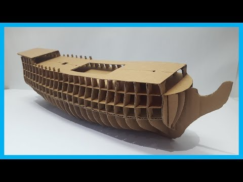 How To Make A Cardboard Ship (Part 1)