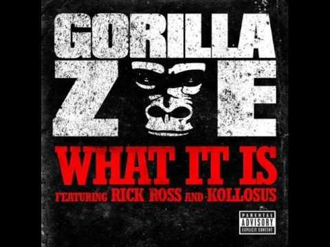 Gorilla Zoe - What it is ( ft. Rick Ross) W / LYRICS