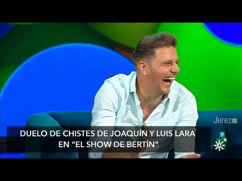 DUELO DE CHISTES JOAQUIN Y LUIS LARA SHOW DE BERTIN