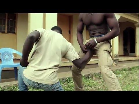 African KARATÉ Movie, KUNG FU Scene 2, Malawi Kufewa Acrobatics