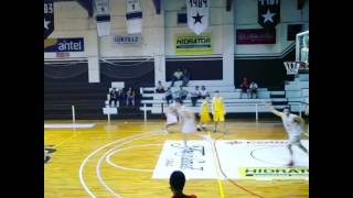 Matias Gallo Asistencia vs Hebraica. Basketball