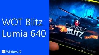 Как работает игра World Of Tanks Blitz на Microsoft Lumia 640