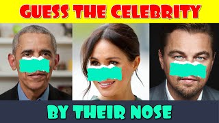 Guess the Celebrity by their Nose Quiz