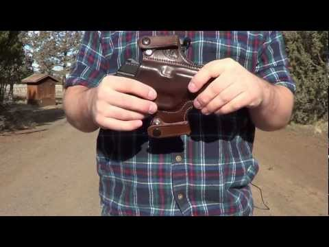 Springfield XDs Leather Holster by Tracker Leather