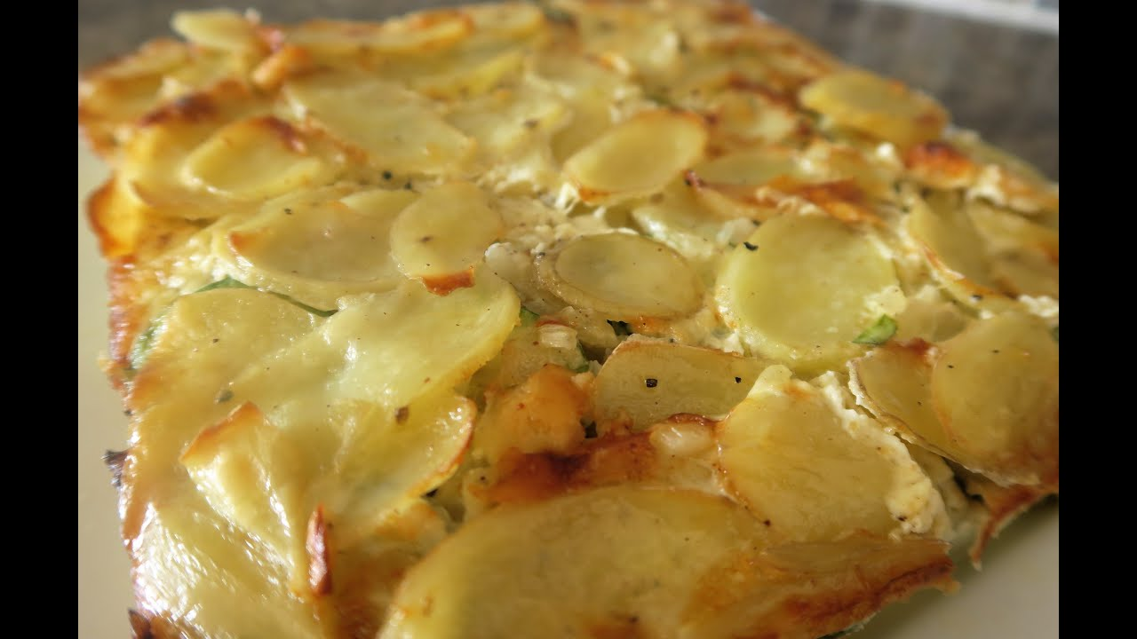recette 42 gratin de pomme de terre courgette potato courgette gratin youtube. Black Bedroom Furniture Sets. Home Design Ideas