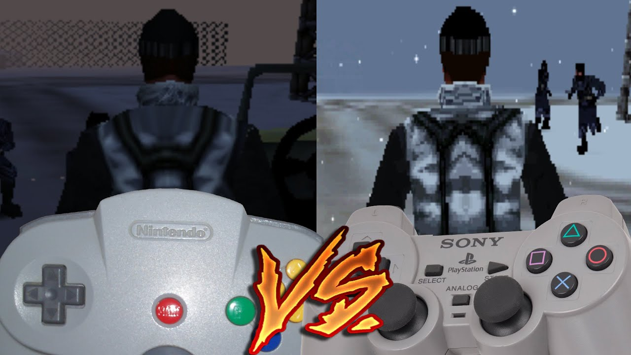 playstation vs nintendo 64 The nintendo 64 could only move 3293 million units, almost a third of what sony   nintendo gamecube vs playstation 2 vs xbox vs.