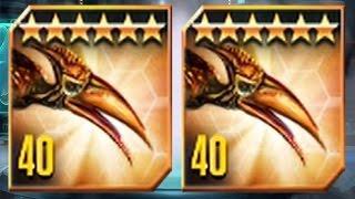 PTERODACTYLUS  MAX LEVEL 40  - NEW VIP DINO - Jurassic World The Game