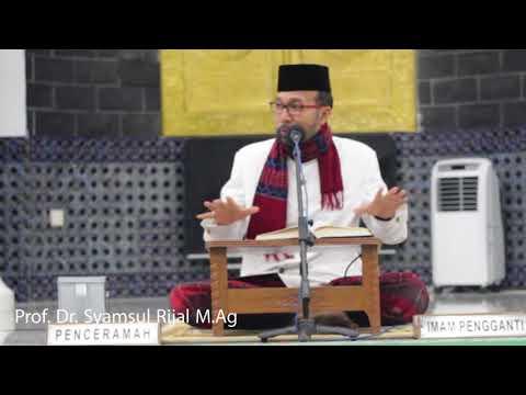 Prof. Syamsul Rijal. M.Ag | Ceramah Mesjid Raya Baiturrahman Banda Aceh  30-8-2017
