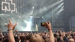 Rammstein Live Gelsenkirchen 27-05-2019 Intro + Was Ich Liebe