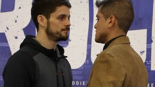 SWIFTY RETURNS - STEPHEN SMITH v DANIEL BRIZUELA - HEAD TO HEAD @ FINAL PRESS CONFERENCE
