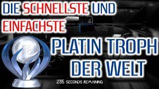 Platin Trophäe in 24 Sekunden | Die schnellste und einfachste Platin Trophäe der Welt [Platin Guide]
