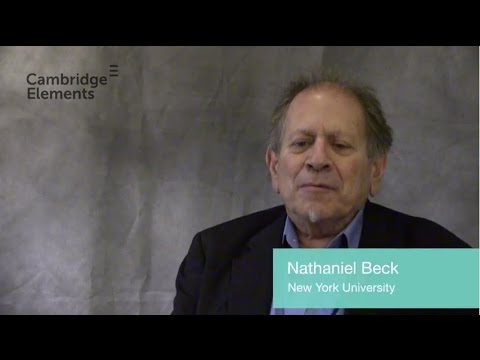 Neal Beck introduces the Quantitative and Computational Methods for Social Science series