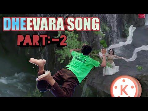 bahubali editing dheevara song vfx Kinemaster Tamil Hindi jumping from mountain to tammana