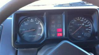 1986 Isuzu Trooper II 2.2L Turbo Diesel 4x4 Test Drive