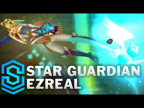 Star Guardian Ezreal (2018) Skin Spotlight - Pre-Release - League of Legends