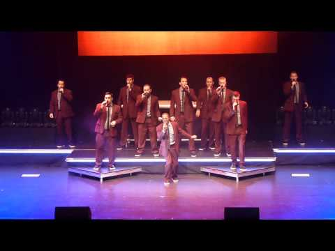 Straight No Chaser Text Me Merry Christmas Count Basie Theater Red Bank NJ 11 28 14
