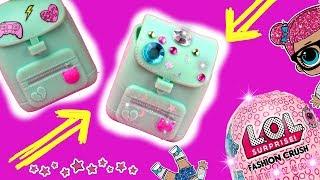LOL Surprise Fashion Crush  Metamorfoza ubranek LOL  Toys Land