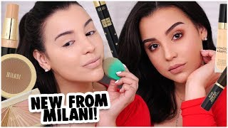 WHATS NEW FROM MILANI 2019! SIMPLE AF MAKEUP TUTORIAL! | MakeupByAmarie