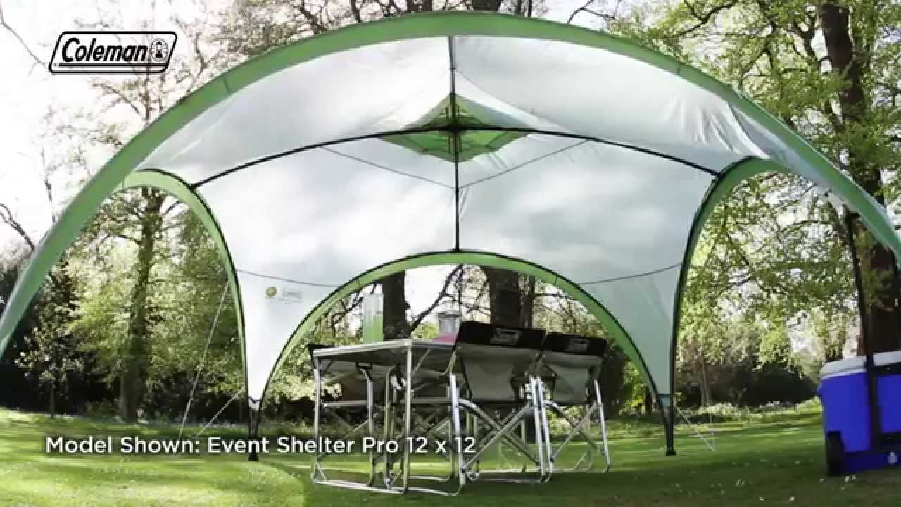 Coleman event shelter deals