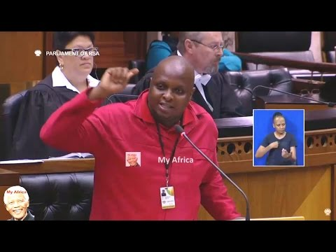 Floyd Shivambu In Trouble For Zuma Speech In Parliament.