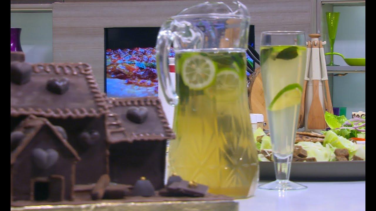 مشروب الشاي الأخضر بالليمون : سالي فؤاد