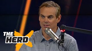 Colin Cowherd has an issue with the name of the Lions' new offensive coordinator | THE HERD