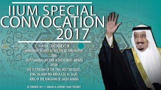 iium special convocation 2017