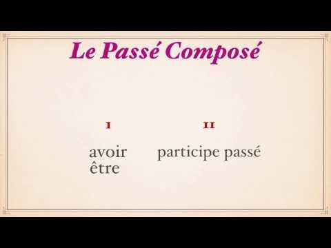 Урок французского языка.
