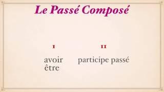 Урок французского языка. Passé Composé с Avoir Образование.