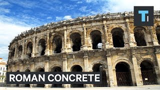 How ancient Romans made stronger concrete than today