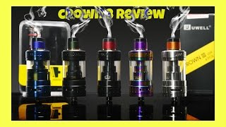 Uwell CROWN 3 Sub Ohm Tank Review | How Are The Coils???