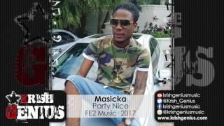 Masicka - Party Nice (Raw) Hamma Business Riddim - April 2017